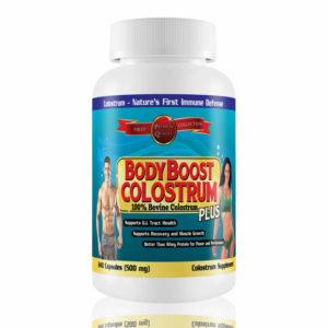 BodyBoost Colostrum 240 Capsules