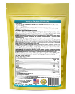 Whole Bovine Colostrum Supplement
