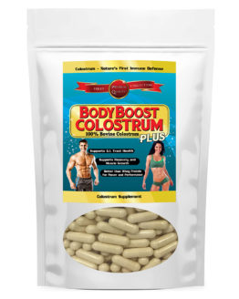 Bovine Colostrum Capsules